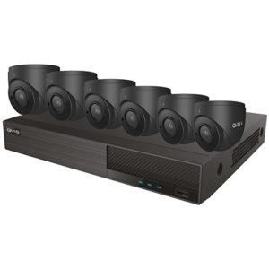 6 Grey CCTV Camera Kit