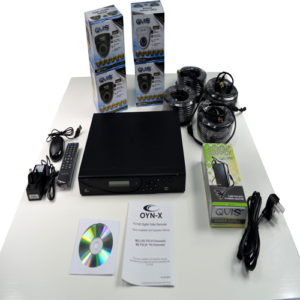 4 Channel CCTV Camera Kit